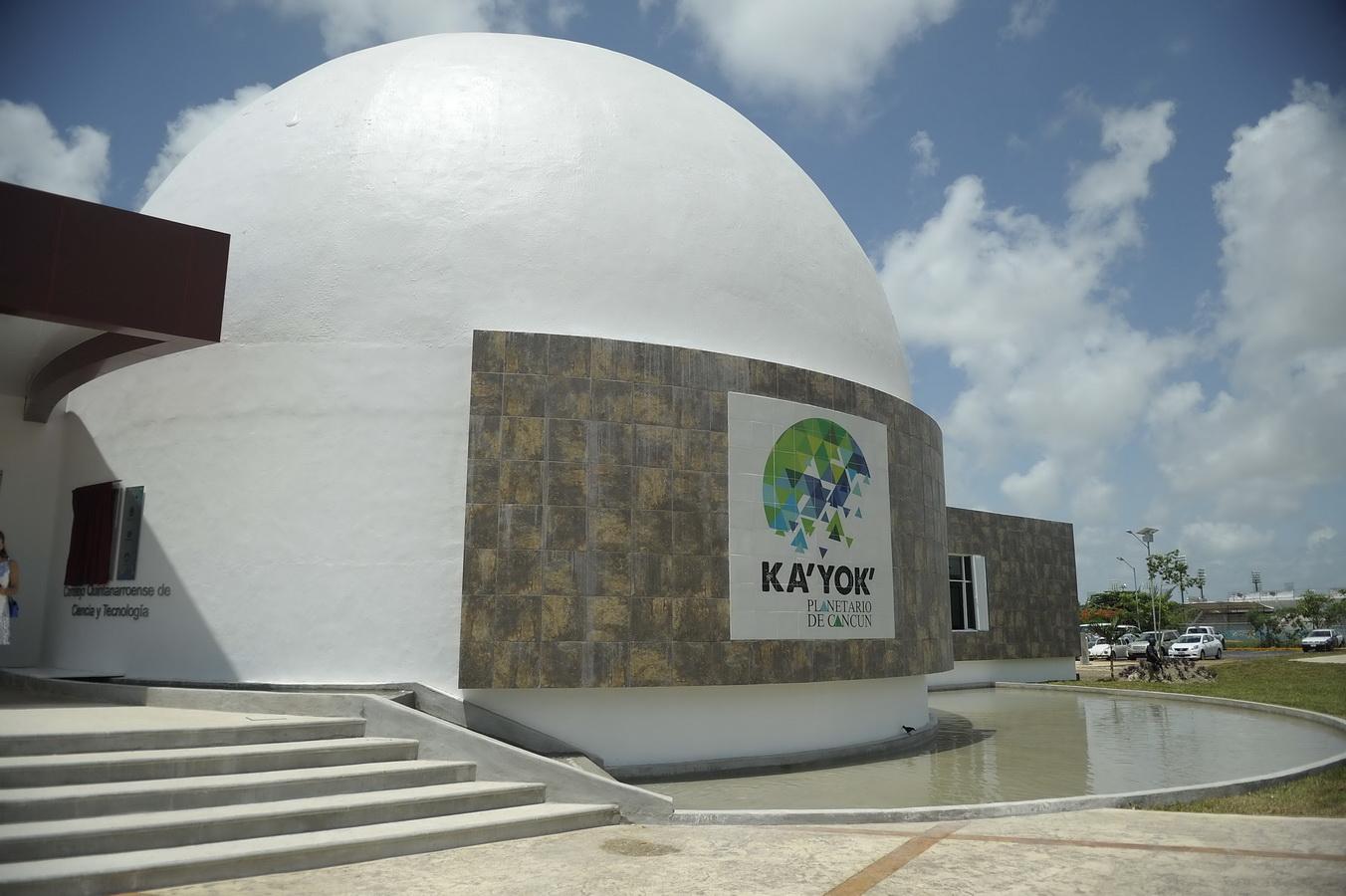 Empieza a funcionar el Planetario de Cancún Ka'Yok'
