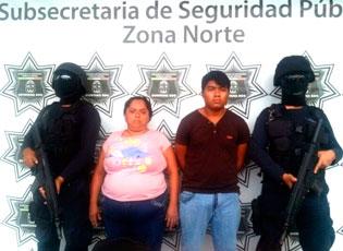 Detienen a pareja con 73 dosis de 'crack' en la SM 69 de Cancún