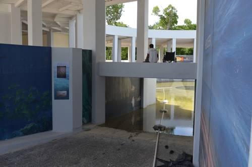 'ELEFANTE BLANCO…' INUNDADO: Sigue abandonado Centro de Educación Climática de QR, víctima de una negligencia presupuestal