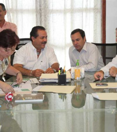 Firman Julián Ricalde y Paul Carrillo plan de trabajo para el proceso de entrega-recepción