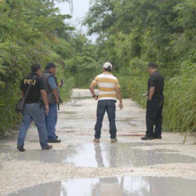 EJECUCIÓN EN XCALACOCO: Con un disparo en la cabeza, encuentran cuerpo de presunto 'tirador' independiente en Playa del Carmen