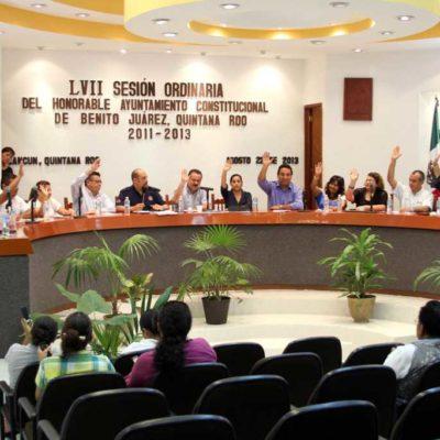 Aprueba Cabildo convenio federal de pavimentación en regiones de Cancún