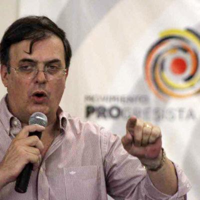 """Critica Marcelo Ebrard la propaganda de la reforma energética de Peña y el PRI: """"Parecen disco rayado"""""""