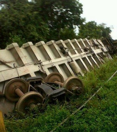 SE DESCARRILLA 'LA BESTIA': Confirman al menos 6 muertos y hasta 22 heridos por accidente en Tabasco de tren de carga con indocumentados