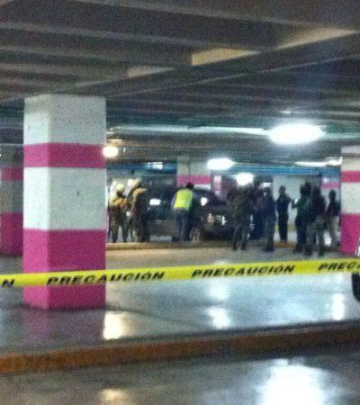 FALSA ALARMA EN PLAZA LAS AMÉRICAS: Gran movilización policiaca por reporte de presunto auto-bomba en estacionamiento de centro comercial en Cancún