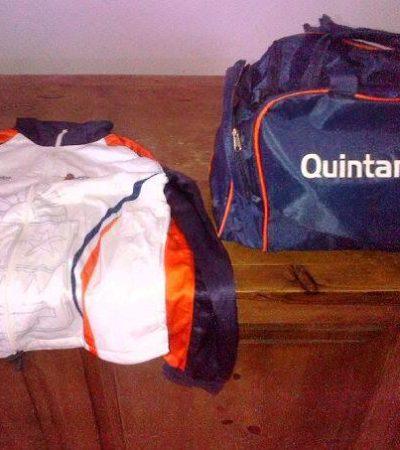 """""""Borge sinvergüenza, 3 meses después entrega maletas y chamarras a voleibolistas que fueron a las Olimpiadas Nacionales"""": página deportiva"""