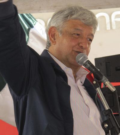 """'Colados' y oportunistas no tienen cabida en Morena y se irán """"por un tubo"""", advierte AMLO"""