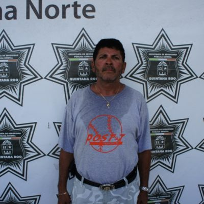Detienen a extorsionador de ambulantes en la Zona Hotelera de Cancún