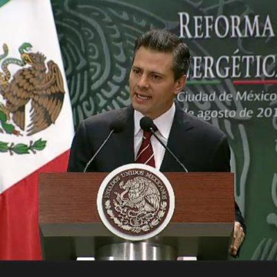Dice EPN a Cuarón que responderá a sus dudas cuando se presenten Leyes Secundarias de reforma energética