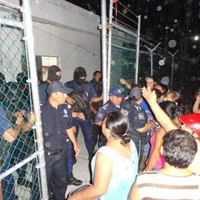 Controlan amotinamiento de reos en cárcel de Cozumel