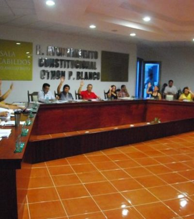 Reclaman regidores al Alcalde de OPB presuntos desvíos por 3 mdp