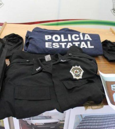 Investigan hallazgo de uniformes de la Policía Estatal en rancho de Xul-Ha donde encontraron a 2 ejecutados
