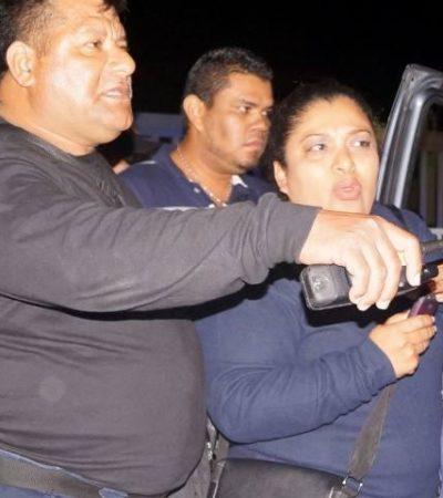 Detienen a 3 sospechosos por ejecución de mando policiaco en Cancún