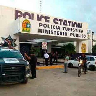 Balazos en la Zona Hotelera de Cancún para detener a par de presuntos extorsionadores