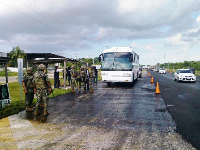 Montan operativo contra fayuqueros en el sur de QR