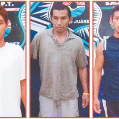 Capturan a 3 sicarios por intento de ejecución en Puerto Morelos