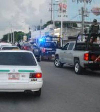 Montan operativo para detectar a taxistas con unidades robadas o 'clonadas' en Cancún: no hubo detenidos