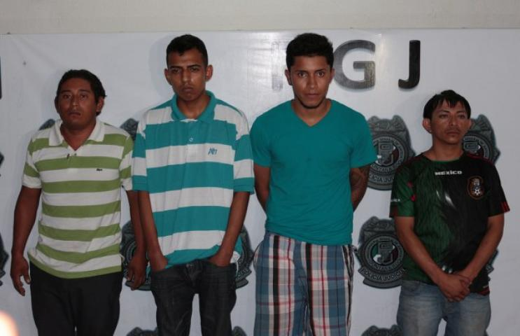 Le arman expedientes por homicidio a sicarios detenidos en Cancún