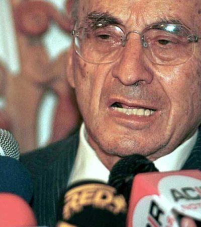 Propone ex Gobernador Jesús Martínez Ross colocar en letras doradas en el Congreso de QR el nombre de Luis Echeverría
