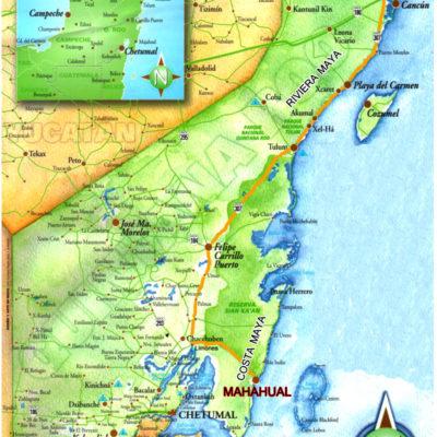 NUEVO MAPA ELECTORAL LE PEGA AL SUR: Para el 2016, la zona sur de QR perdería otro distrito