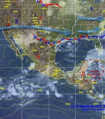 Deja de representar peligro onda tropical pero aún dejará más lluvia en QR; mantienen 'alerta azul' por tormenta 'Erin' en el Atlántico