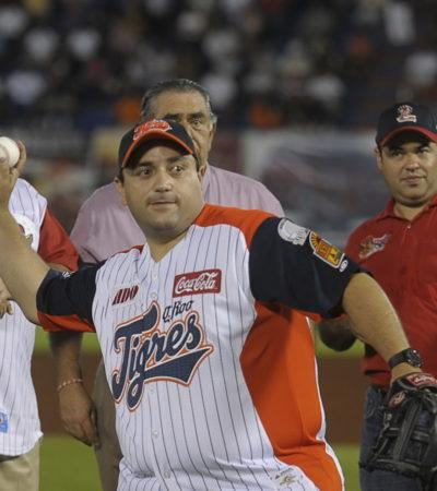 COMPARTE BORGE SU 'JUGUETE': Regala Gobernador 200 boletos para asistir al juego de los Tigres de QR contra Veracruz por el título de la Zona Sur