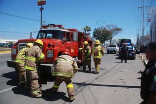 Sofocan conato de incendio en Calderitas