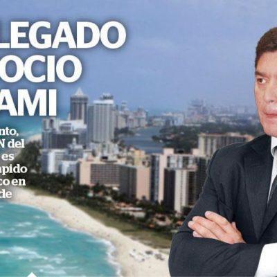 CREA FÉLIX EMPRESA EN MIAMI: Exhibe Reporte Indigo a ex Gobernador de QR por nuevos 'negocios' con viejos socios