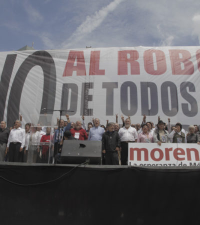 REFORMAS DE PEÑA, A CONSULTA: En marcha de miles, llama AMLO a someter a referéndum las reformas energéticas y fiscal