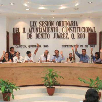 Antes de irse, aprueba Cabildo convenio para dar tarifa especial de transporte a estudiantes, menores, discapacitados y personas de la tercera edad en Cancún
