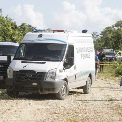 NUEVA EJECUCIÓN EN CANCÚN: Hallan cuerpo de joven torturado y asesinado a golpes en el fraccionamiento Prado Norte