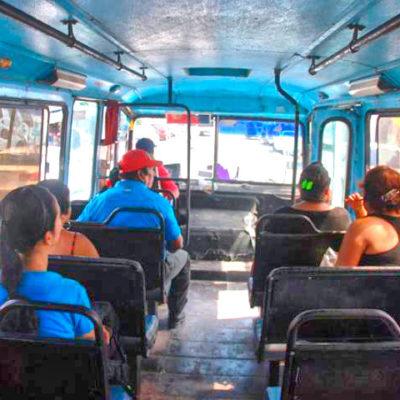Deja Mario Villanueva a Abuxapqui un transporte 'colapsado' en Chetumal