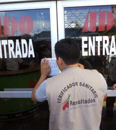 CLAUSURAN ADO EN CHETUMAL: Impone Cofepris cierre de terminal de autobuses por desbordamiento de aguas negras