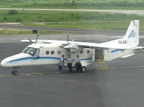 Aterriza de emergencia en Campeche un avión que despegó de Cozumel con destino a Villahermosa