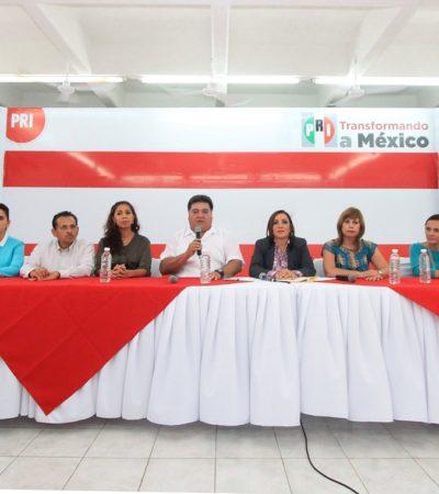 CADA PARTIDO TIENE EL LÍDER QUE MERECE: Encabezará Pedro Flota la bancada priista en el Congreso