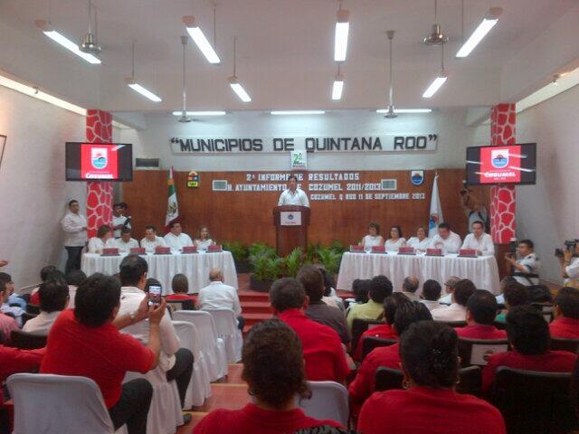 Con 8 ejecuciones en su mandato y un calcinado, alardea 'Lito' Joaquín que Cozumel es el municipio más seguro de México