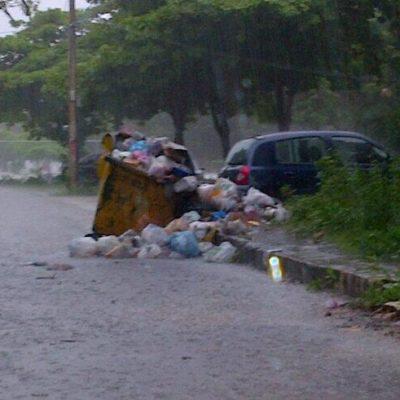 Por adeudo de 36 mdp, dejan de operar 37 rutas del servicio de recolección de basura en Cancún
