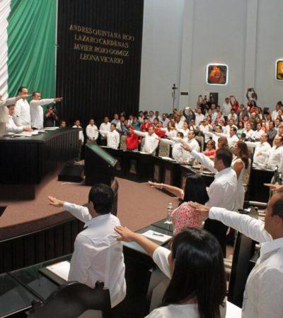 ASUME CONGRESO AL SERVICIO DE BORGE: Resguardados por la policía y en una sesión VIP, asumen diputados nueva legislatura dominada por la 'betobancada'