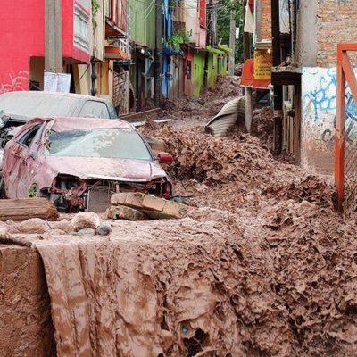 TORMENTAS SIEMBRAN TRAGEDIA: Desaparecen otras 70 personas sepultadas por un alud en Guerrero