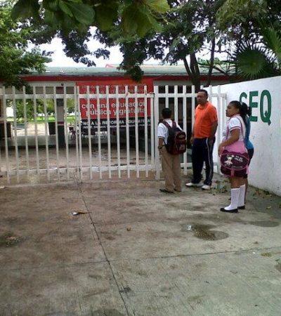 Después de 3 semanas de paro de maestros, padres de familia toman escuelas para exigir reinicio de clases
