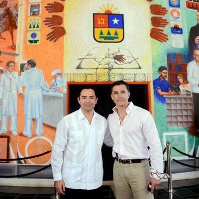 CONTAGIA GOBERNADOR DE 'FARANDULITIS' A LA 'BETOBANCADA': 'Chanito' se toma foto con Sergio Meyer, la sube a redes… y luego la borra