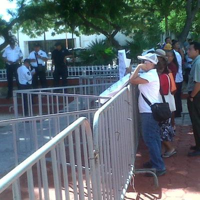 NUEVO ALCALDE, CON VALLAS: Protegido por fuerte operativo policiaco, Paul Carrillo tomará control del Gobierno de BJ