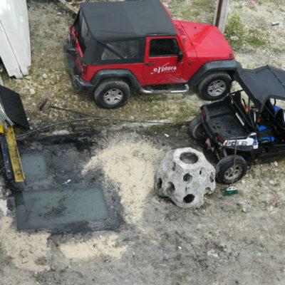 Denuncian a empresa 'Explora' por contaminación con aceite en área de cenotes en Cozumel