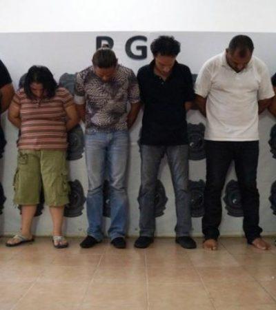 Consignan a 8 de los detenidos tras el mega operativo en antros en Cancún