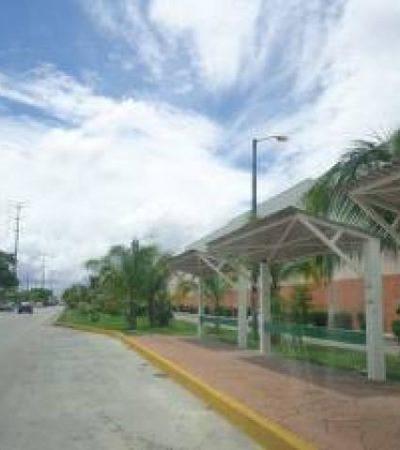 Encuentran balas en paradero de autobuses en Cancún