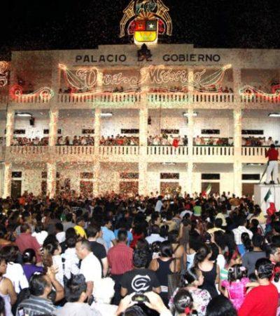 Aún no toman una decisión sobre suspender o no El Grito y el desfile militar en Chetumal