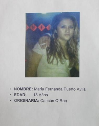 Buscan en Yucatán y QR a joven secuestradora de la banda del Facebook