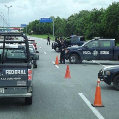 Redoblan federales vigilancia en el aeropuerto por maestros