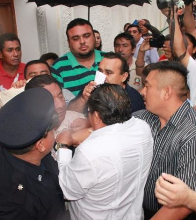 SE ESCABULLE SEBASTIÁN: Corretean al Alcalde de FCP en su informe
