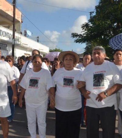 Protestan contra presunta protección de juez federal a sospechoso de asesinato